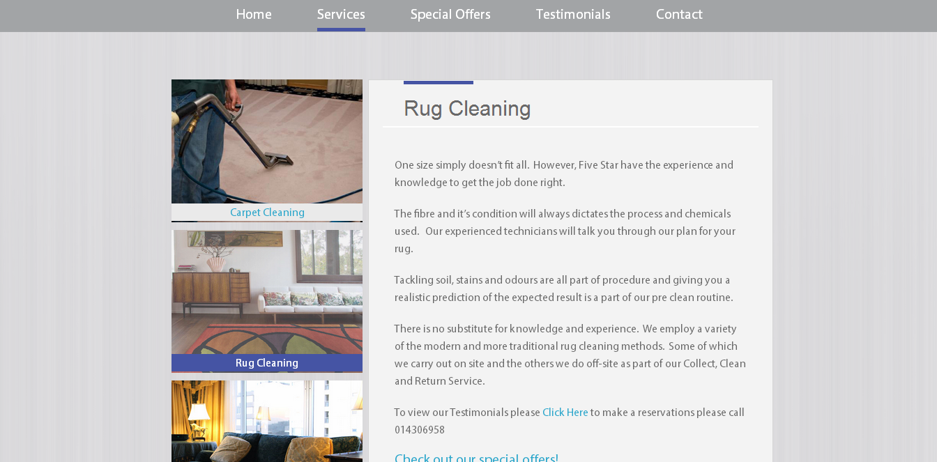 Fivestar Carpet Cleaning